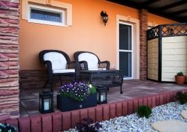 Apartmány Kord Lednice - terasa Porthos